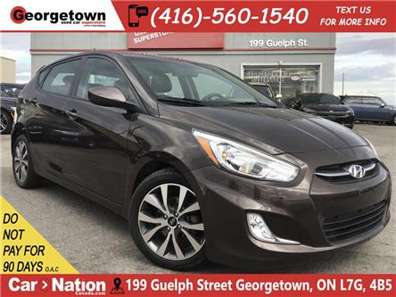2017 Hyundai Accent SE | SUNROOF | HEATED SEATS | BLUETOOTH | (Stk: P12481) in Georgetown - Image 1 of 26
