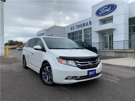 2017 Honda Odyssey Touring (Stk: P6876A) in St. Thomas - Image 1 of 30