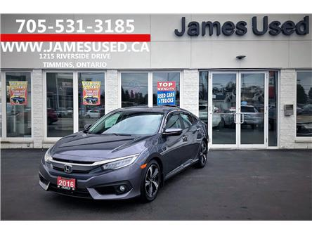 2016 Honda Civic Touring (Stk: N19431A) in Timmins - Image 1 of 16