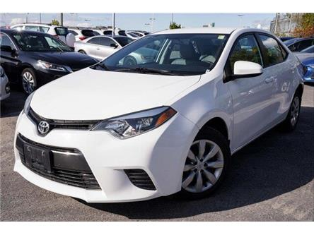 2016 Toyota Corolla LE (Stk: SK729A) in Ottawa - Image 1 of 23