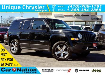 2016 Jeep Patriot HIGH ALTITUDE| 4X4| NAV| SUNROOF| LEATHER (Stk: K765A) in Burlington - Image 1 of 40