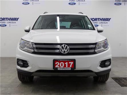 2017 Volkswagen Tiguan Wolfsburg Edition | AWD | HTD LEATHER | PANOROOF | (Stk: P5226) in Brantford - Image 2 of 37