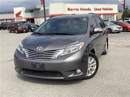 2017 Toyota Sienna Limited 7-Passenger (Stk: U17072) in Barrie - Image 1 of 25