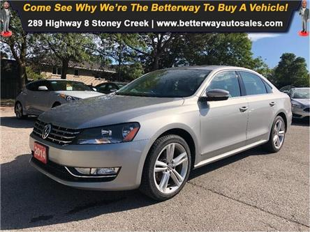 2014 Volkswagen Passat Comfortline, DIESEL, LEATHER, LOADED (Stk: 5504) in Stoney Creek - Image 1 of 21