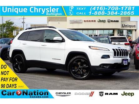 2016 Jeep Cherokee NORTH| ALTITUDE PKG| NAV| REAR CAM| REMOTE START (Stk: K599A) in Burlington - Image 1 of 49