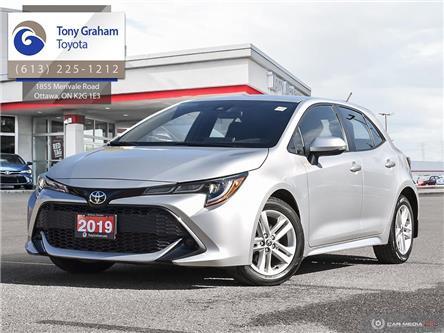 2019 Toyota Corolla Hatchback Base (Stk: U9186) in Ottawa - Image 1 of 29