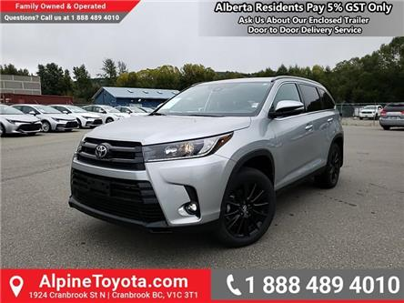 2019 Toyota Highlander XLE AWD SE Package (Stk: S613745) in Cranbrook - Image 1 of 24
