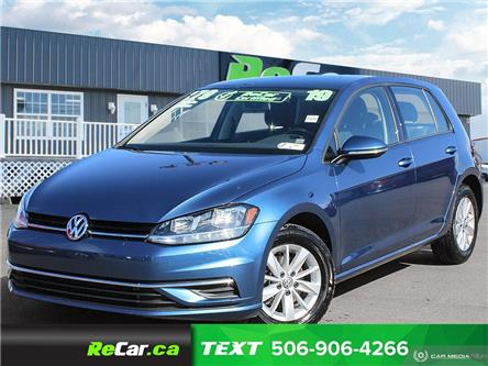 2019 Volkswagen Golf 1.4 TSI Comfortline (Stk: 191153A) in Fredericton - Image 1 of 23