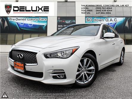 2017 Infiniti Q50 3.0T (Stk: D0661) in Concord - Image 1 of 29
