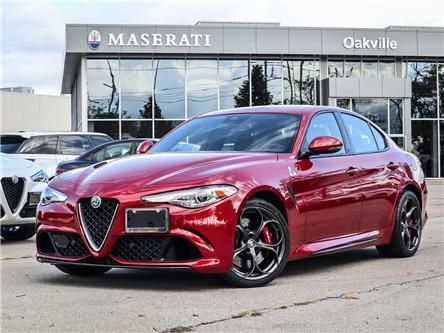 2018 Alfa Romeo Giulia Quadrifoglio (Stk: CONS1) in Oakville - Image 1 of 30
