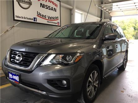 2017 Nissan Pathfinder SL (Stk: P0712) in Owen Sound - Image 1 of 12