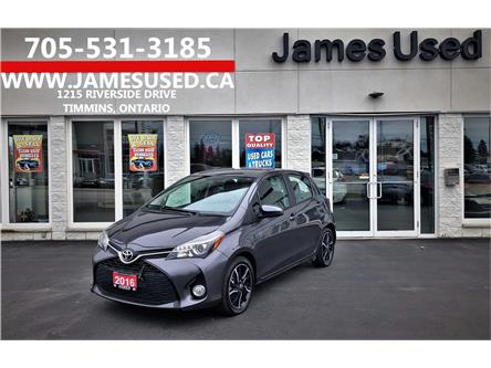 2016 Toyota Yaris SE (Stk: P02688) in Timmins - Image 1 of 14