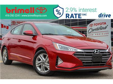 2019 Hyundai Elantra Preferred (Stk: 9984R) in Scarborough - Image 2 of 27