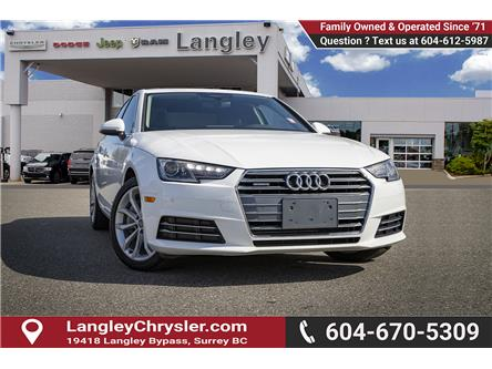 2017 Audi A4 2.0T Progressiv (Stk: K591454A) in Surrey - Image 1 of 23
