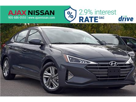 2019 Hyundai Elantra Ultimate (Stk: P4258R) in Ajax - Image 1 of 33
