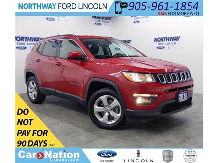 2018 Jeep Compass North | 4x4 | LEATHER | BLUETOOTH | PUSH START | (Stk: DR405) in Brantford - Image 1 of 33