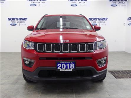 2018 Jeep Compass North | 4x4 | LEATHER | BLUETOOTH | PUSH START | (Stk: DR405) in Brantford - Image 2 of 33