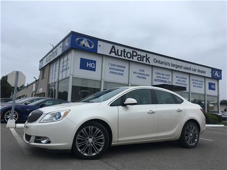 2014 Buick Verano Leather Package (Stk: 14-54945) in Brampton - Image 1 of 27
