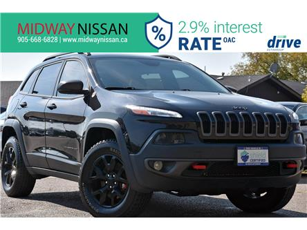 2016 Jeep Cherokee Trailhawk (Stk: U1849) in Whitby - Image 1 of 35