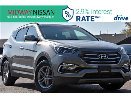2018 Hyundai Santa Fe Sport 2.4 Luxury (Stk: U1877R) in Whitby - Image 1 of 36
