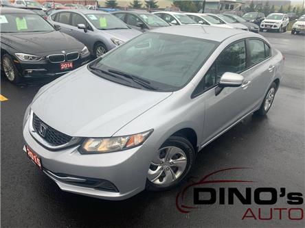 2015 Honda Civic LX (Stk: 019751) in Orleans - Image 1 of 26