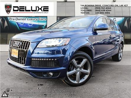 2015 Audi Q7 3.0 TDI Vorsprung Edition (Stk: D0657) in Concord - Image 1 of 26