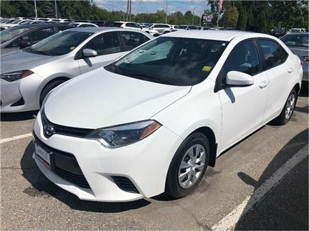 2016 Toyota Corolla LE ECO (Stk: U2692) in Vaughan - Image 1 of 16