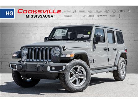 2020 Jeep Wrangler Unlimited Sahara (Stk: LW118180) in Mississauga - Image 1 of 21