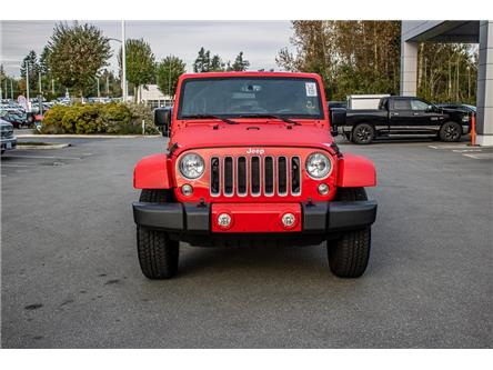 2018 Jeep Wrangler JK Unlimited Sahara (Stk: AB0905) in Abbotsford - Image 2 of 26