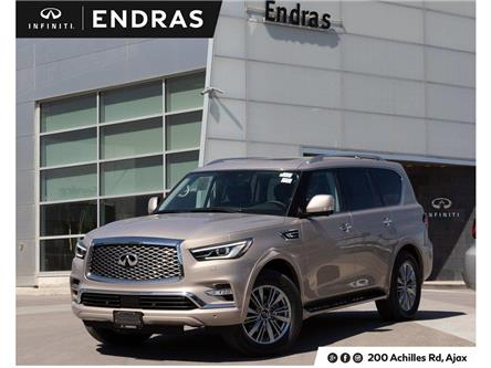 2019 Infiniti QX80 LUXE 8 Passenger (Stk: 80108) in Ajax - Image 1 of 28