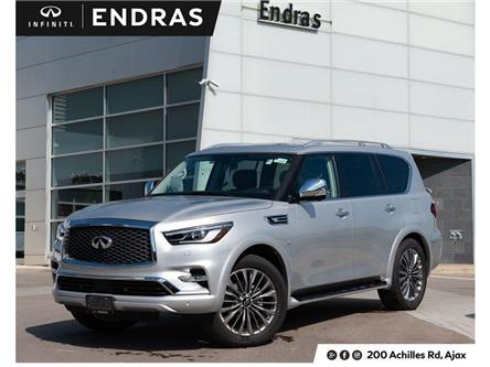 2019 Infiniti QX80 LUXE 8 Passenger (Stk: 80094) in Ajax - Image 1 of 30