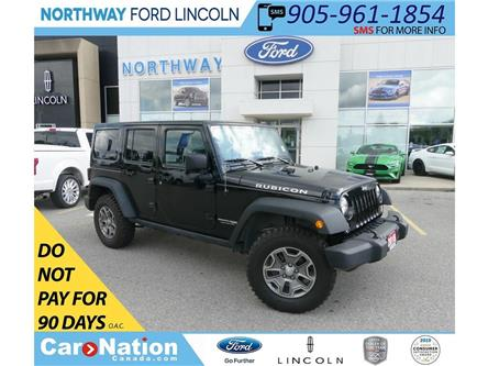 2018 Jeep Wrangler Unlimited Rubicon   NAV   HTD SEATS   HARD TOP   (Stk: DR352) in Brantford - Image 1 of 37