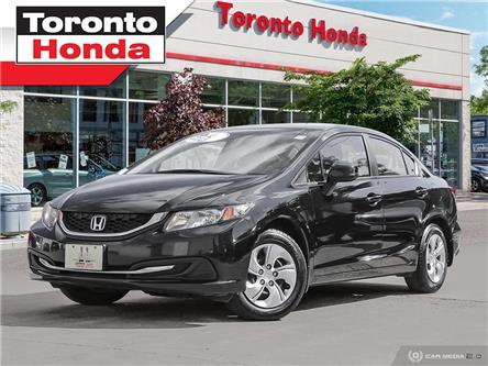 2013 Honda Civic LX/Brand new front Pads and Rotors/Heated front se (Stk: 39487) in Toronto - Image 1 of 25