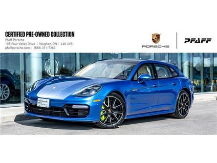 2018 Porsche Panamera Turbo S e-Hybrid Spt Turismo (Stk: U8228) in Vaughan - Image 1 of 22