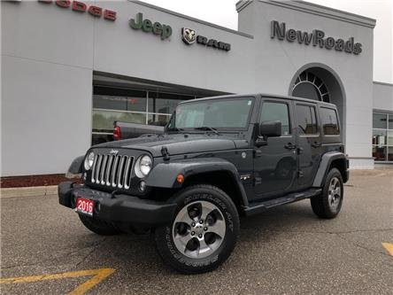 2016 Jeep Wrangler Unlimited Sahara (Stk: 24370T) in Newmarket - Image 1 of 20