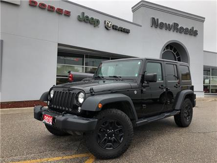 2016 Jeep Wrangler Unlimited Sport (Stk: 24388P) in Newmarket - Image 1 of 19