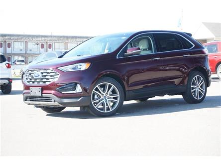 2019 Ford Edge Titanium (Stk: S192403) in Dawson Creek - Image 2 of 18