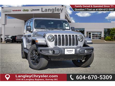 2019 Jeep Wrangler Unlimited Sahara (Stk: K667471) in Surrey - Image 1 of 22
