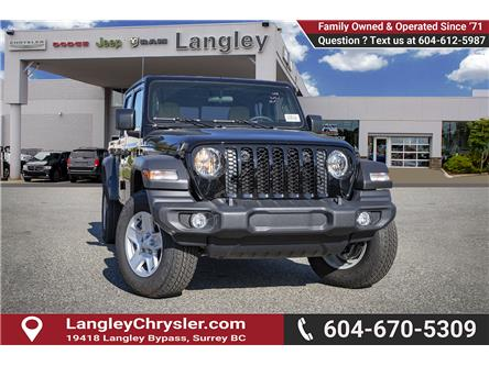 2020 Jeep Gladiator Sport S (Stk: L140896) in Surrey - Image 1 of 24