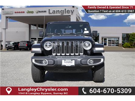 2020 Jeep Gladiator Overland (Stk: L114237) in Surrey - Image 2 of 21