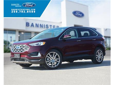 2019 Ford Edge Titanium (Stk: S192403) in Dawson Creek - Image 1 of 18