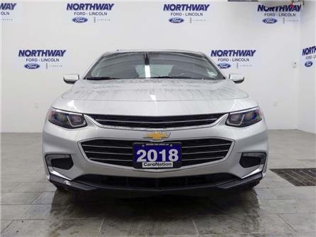 2018 Chevrolet Malibu LT | PUSH START | BACKUP CAM | REMOTE START | (Stk: DR428) in Brantford - Image 2 of 40