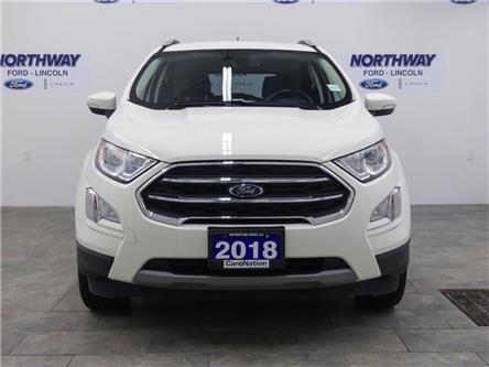 2018 Ford EcoSport Titanium | AWD | NAV | HTD LEATHER | SUNROOF | (Stk: DR561) in Brantford - Image 2 of 38