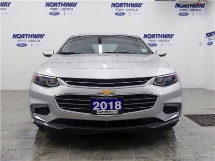 2018 Chevrolet Malibu LT | PUSH START | BACKUP CAM | REMOTE START | (Stk: DR427) in Brantford - Image 2 of 40