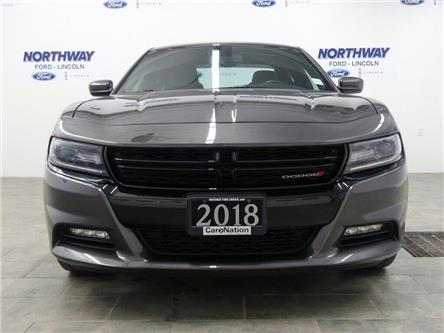 2018 Dodge Charger GT | AWD | NAV | PWR HTD SEATS | SUNROOF | (Stk: DR379) in Brantford - Image 2 of 45