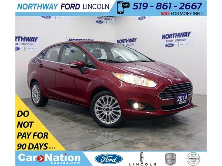 2014 Ford Fiesta Titanium | HTD SEATS | BACK UP CAM | PUSH START | (Stk: F188384B) in Brantford - Image 1 of 35