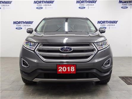 2018 Ford Edge SEL | AWD | HTD SEATS | BACKUP CAM | PUSH START | (Stk: DR435) in Brantford - Image 2 of 36