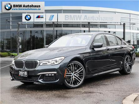 2018 BMW 750i xDrive (Stk: P9165) in Thornhill - Image 1 of 31
