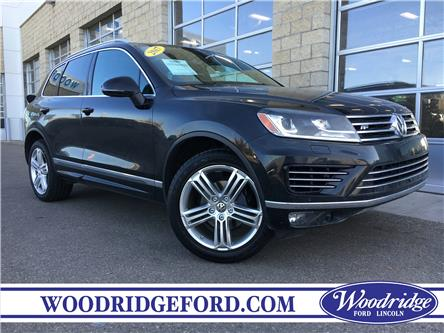 2017 Volkswagen Touareg 3.6L Execline (Stk: K-1680B) in Calgary - Image 1 of 22