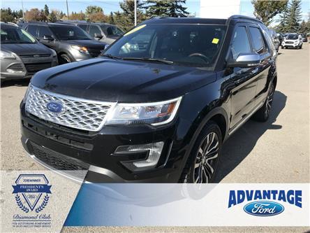 2017 Ford Explorer Platinum (Stk: 5556) in Calgary - Image 1 of 21